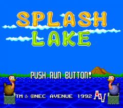 Splash Lake - pce-cd