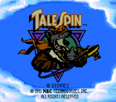 TaleSpin - pce