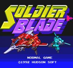 Soldier Blade - pce
