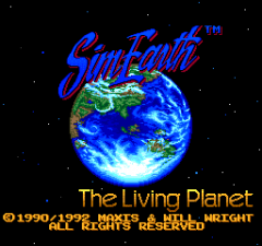 Sim Earth - The Living Planet - pce-cd