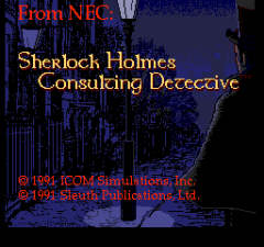Sherlock Holmes Consulting Detective - pce-cd