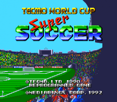 Tecmo World Cup Super Soccer - pce-cd