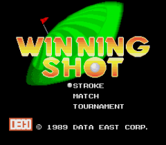 Winning Shot - pce