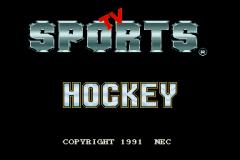 TV Sports Hockey - pce
