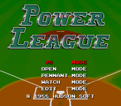 Power League - pce