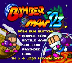 Bomberman '93 - pce