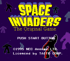 Space Invaders - The Original Game - pce-cd