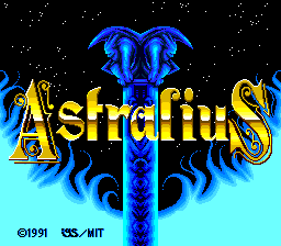 Mateki Densetsu Astralius - pce-cd