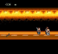 387383-river-city-ransom-turbografx-cd-screenshot-battle-in-a-tunnel.png