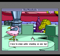 470307-the-manhole-turbografx-cd-screenshot-chatting-with-a-flamingo.png