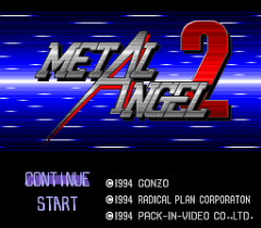 Metal Angel 2 - pce-cd