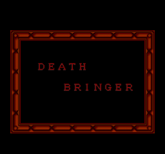 Death Bringer - The Knight Of Darkness - pce-cd