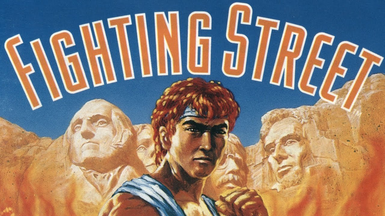 Fighting Street - pce-cd