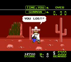 Wild Gunman - nes