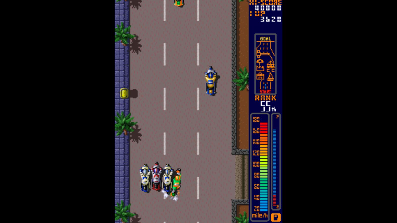 Rally Bike - arcade