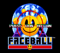Faceball - pce-cd