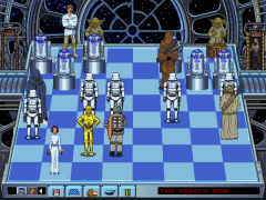 The Software Toolworks' Star Wars Chess (DOS)