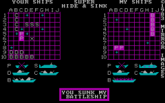 Hide and Sink (DOS)