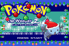 Pokémon The Wooper Who Saved Christmas 2 : Electric Boogaloo (Gameboy Advance)