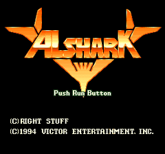 Alshark (PC Engine CD)