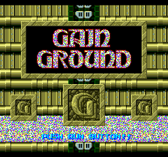 Gain Ground SX (PC Engine CD)