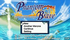 Phantom Brave : The Hermuda Triangle (Playstation Portable)