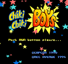 Chiki Chiki Boys (PC Engine CD)