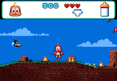 470791-baby-jo-in-going-home-turbografx-cd-screenshot-ouch-too-many.png