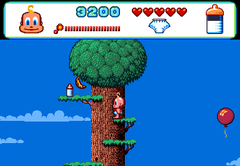 470797-baby-jo-in-going-home-turbografx-cd-screenshot-baby-on-a-tree.png