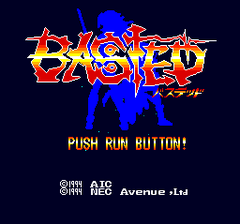 Basted (PC Engine CD)