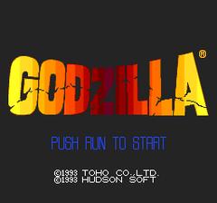 Godzilla - Bakutou Retsuden (PC Engine CD)