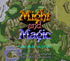 Might And Magic (PC Engine CD)