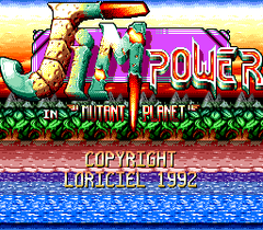 Jim Power - In Mutant Planet (PC Engine CD)