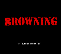 Browning (PC Engine CD)
