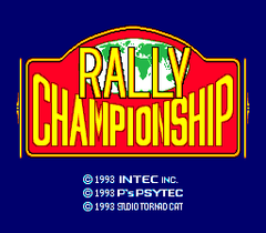 Championship Rally (PC Engine CD)