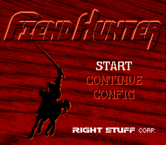 Fiend Hunter (PC Engine CD)