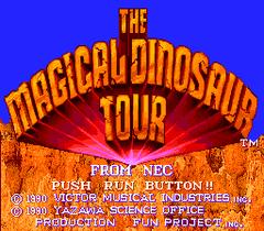 Magical Saurus Tour (PC Engine CD)