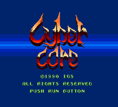 Cyber Core (PC Engine)