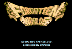 Forgotten Worlds (PC Engine CD)