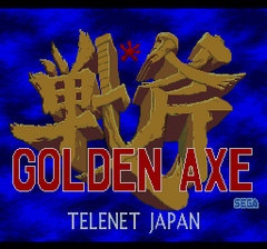 Golden Axe (PC Engine CD)