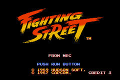 Fighting Street (PC Engine CD)