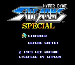 Hyper Dyne SideArms Special (PC Engine CD)