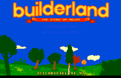 Builder Land (PC Engine CD)