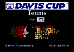 Davis Cup Tennis (PC Engine CD)