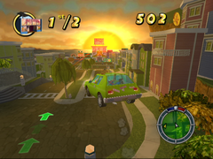 The Simpsons : Hit & Run (GameCube)