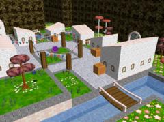 SM64 Shining Stars Repainted (Nintendo 64)