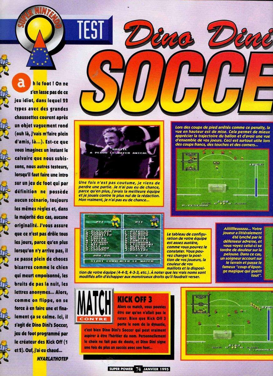 Dino Dini's Soccer! (Europe) (En,Fr,De) 1
