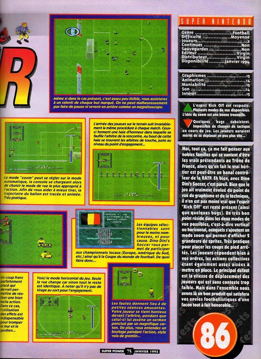 Dino Dini's Soccer! (Europe) (En,Fr,De) 2