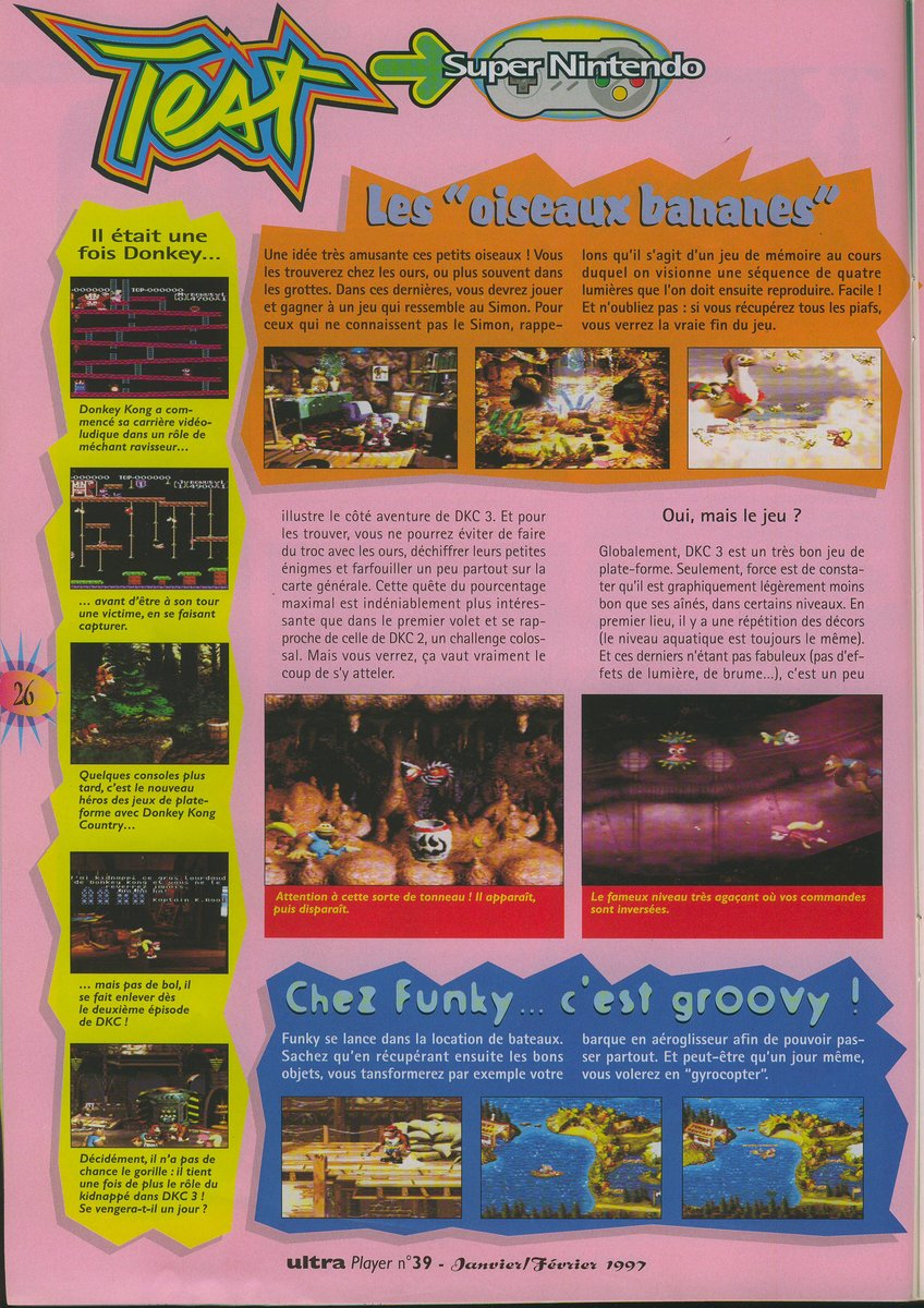 Donkey Kong Country 3 : Dixie Kong's Double Trouble! - 03