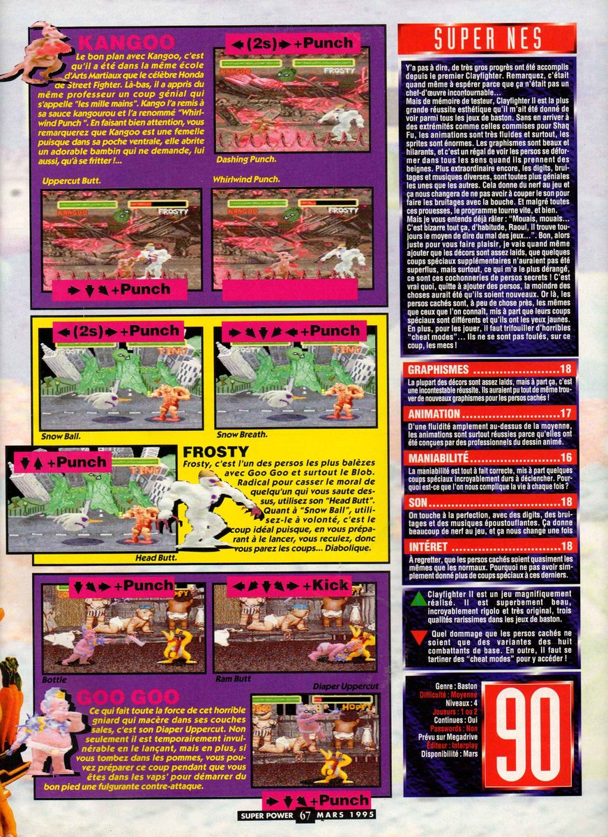 Clay Fighter 2 - Judgment Clay (Europe) - 4